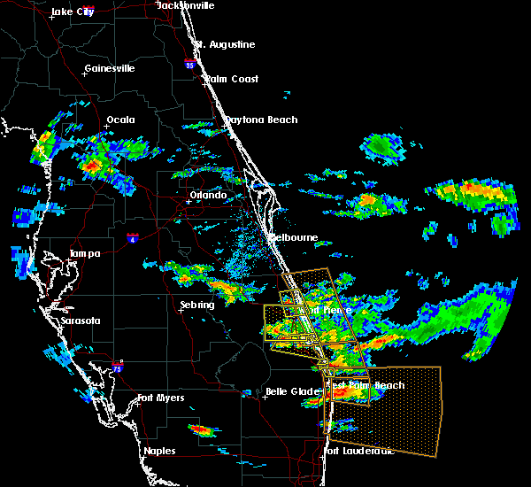 Map Of Stuart Florida.Interactive Hail Maps Hail Map For Stuart Fl