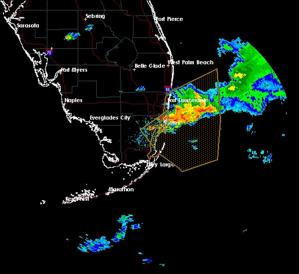 Interactive Hail Maps Hail Map for Miami Gardens FL