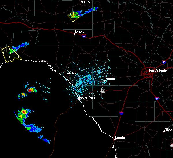 Radar Image for Severe Thunderstorms near Sanderson, TX at 4/20/2016 4:03 PM CDT
