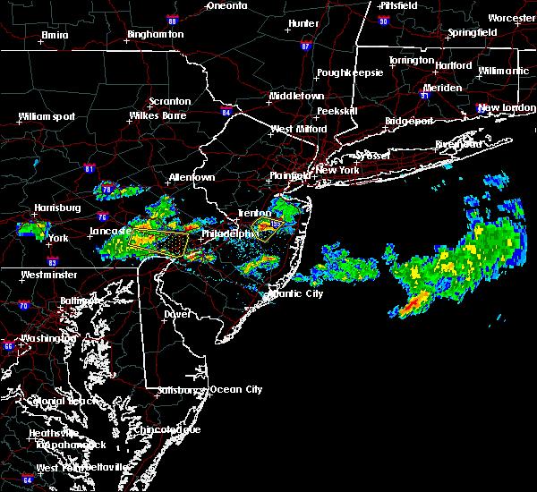 Radar Image for Severe Thunderstorms near Roosevelt, NJ at 4/26/2016 6:05 PM EDT