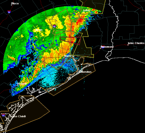 Radar Image for Severe Thunderstorms near Cape Royale, TX at 4/27/2016 5:16 AM CDT