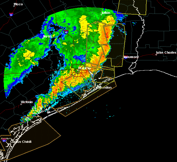 Radar Image for Severe Thunderstorms near Beach City, TX at 4/27/2016 5:55 AM CDT