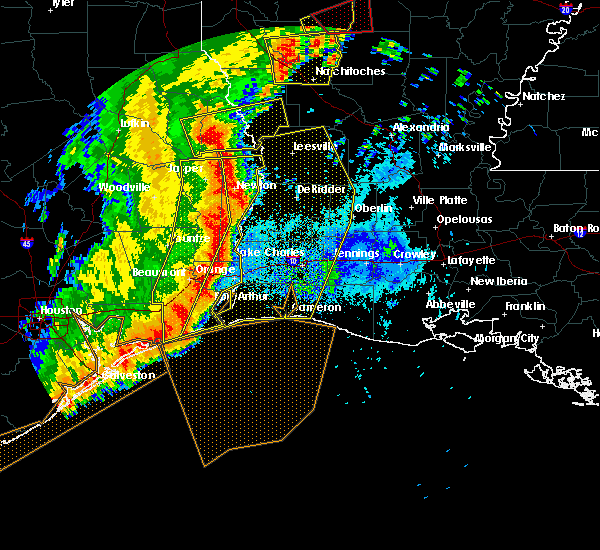 Radar Image for Severe Thunderstorms near Lake Charles, LA at 4/27/2016 6:50 AM CDT
