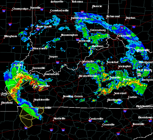 Radar Image for Severe Thunderstorms near Liberty, KY at 4/27/2016 5:55 PM EDT