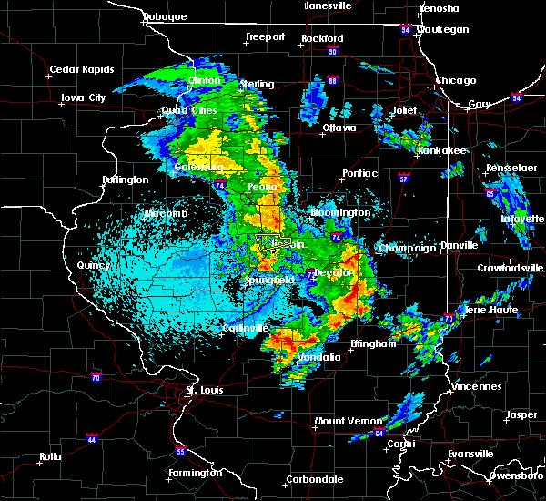 Radar Image for Severe Thunderstorms near Emden, IL at 4/28/2016 1:14 AM CDT