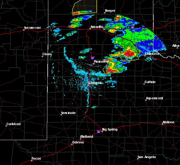 Radar Image for Severe Thunderstorms near Floydada, TX at 4/28/2016 5:53 PM CDT