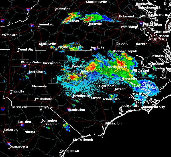 Radar Image for Severe Thunderstorms near Virgilina, VA at 4/28/2016 8:26 PM EDT