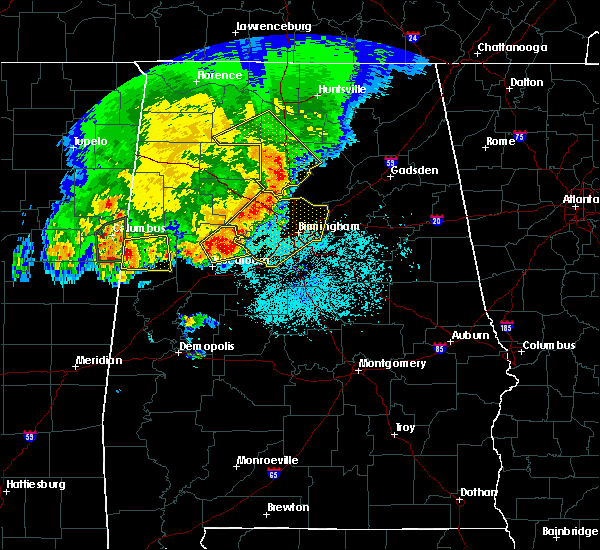 Radar Image for Severe Thunderstorms near Hartselle, AL at 4/29/2016 5:53 PM CDT