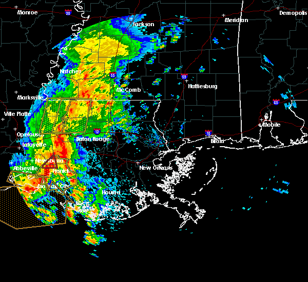 Radar Image for Severe Thunderstorms near Patterson, LA at 4/30/2016 1:03 PM CDT