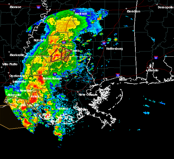 Radar Image for Severe Thunderstorms near Patterson, LA at 4/30/2016 1:24 PM CDT