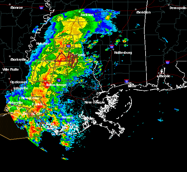 Radar Image for Severe Thunderstorms near Patterson, LA at 4/30/2016 1:34 PM CDT