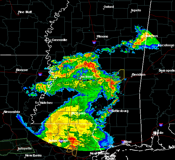 Radar Image for Severe Thunderstorms near Newton, MS at 5/1/2016 10:32 AM CDT