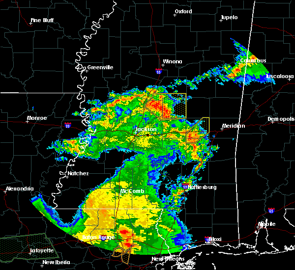 Radar Image for Severe Thunderstorms near Newton, MS at 5/1/2016 10:46 AM CDT