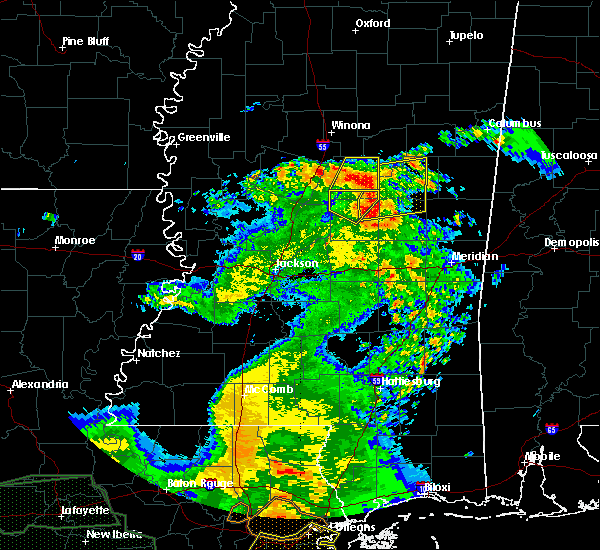 Radar Image for Severe Thunderstorms near Bogue Chitto, MS at 5/1/2016 11:30 AM CDT