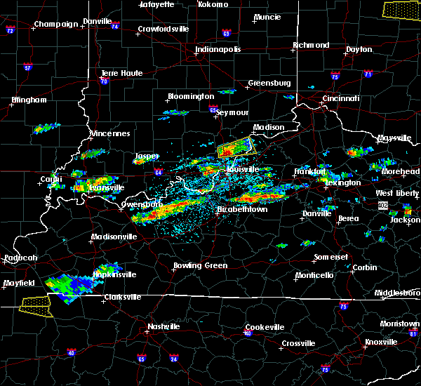 Radar Image for Severe Thunderstorms near Hanover, IN at 5/1/2016 3:04 PM EDT