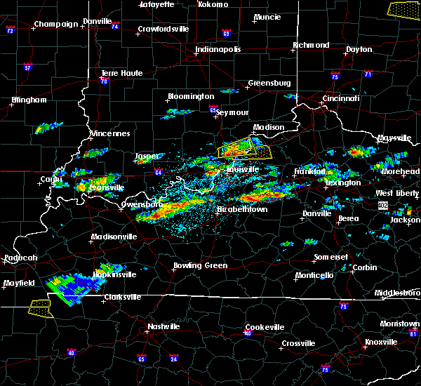 Radar Image for Severe Thunderstorms near Westport, KY at 5/1/2016 3:13 PM EDT