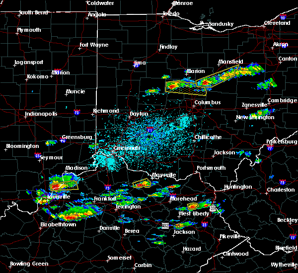Radar Image for Severe Thunderstorms near Richwood, OH at 5/1/2016 3:23 PM EDT