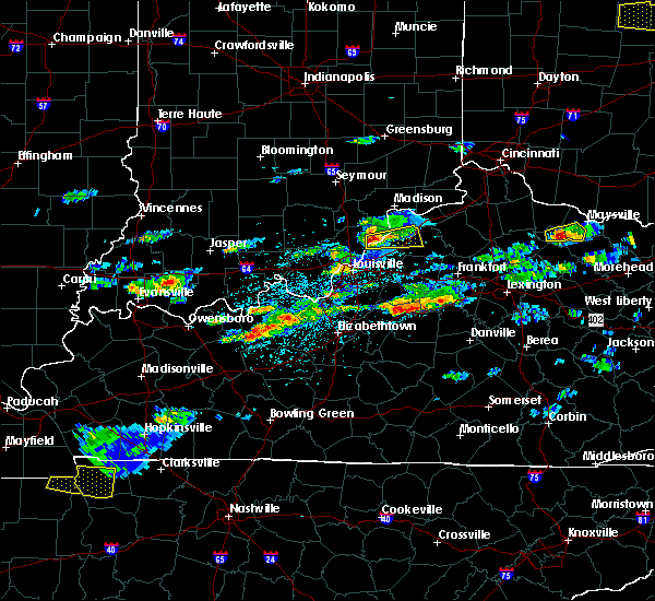 Radar Image for Severe Thunderstorms near Westport, KY at 5/1/2016 3:26 PM EDT