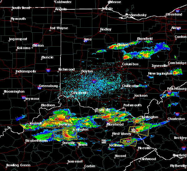 Radar Image for Severe Thunderstorms near Concord, OH at 5/1/2016 4:28 PM EDT