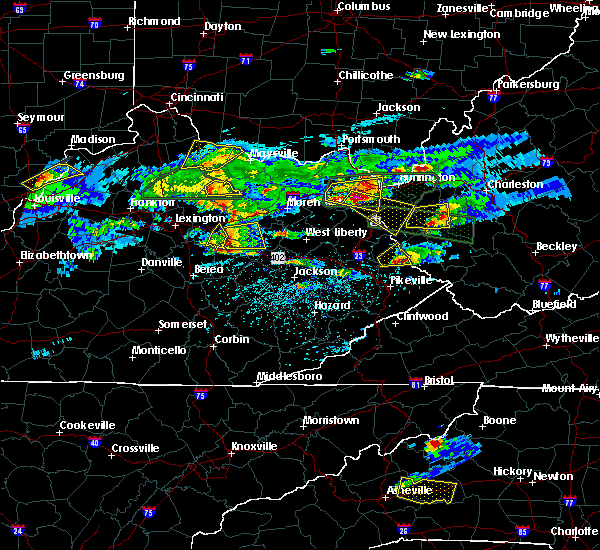 Radar Image for Severe Thunderstorms near Carlisle, KY at 5/1/2016 5:28 PM EDT