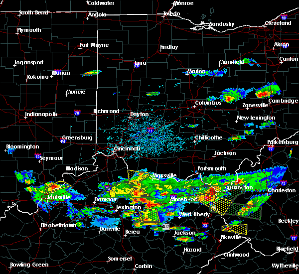 Radar Image for Severe Thunderstorms near Augusta, OH at 5/1/2016 5:34 PM EDT