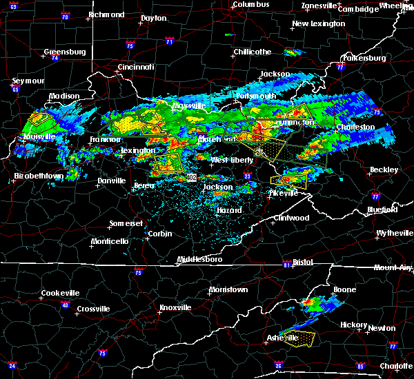 Radar Image for Severe Thunderstorms near Jeffersonville, KY at 5/1/2016 5:41 PM EDT