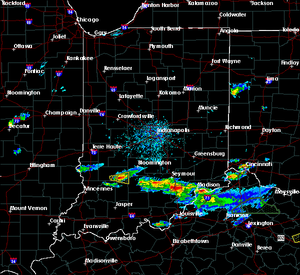 Radar Image for Severe Thunderstorms near Owensburg, IN at 5/1/2016 6:17 PM EDT