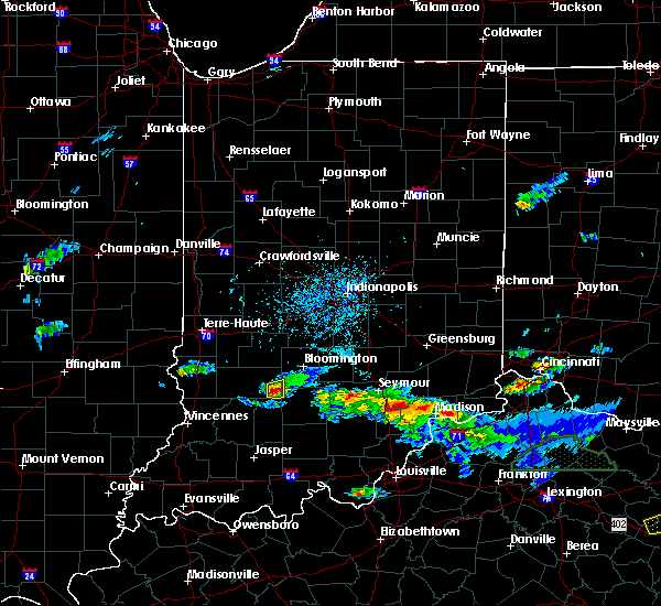 Radar Image for Severe Thunderstorms near Owensburg, IN at 5/1/2016 6:26 PM EDT