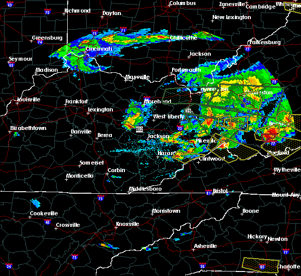 Radar Image for Severe Thunderstorms near Jenkins, KY at 5/1/2016 7:43 PM EDT