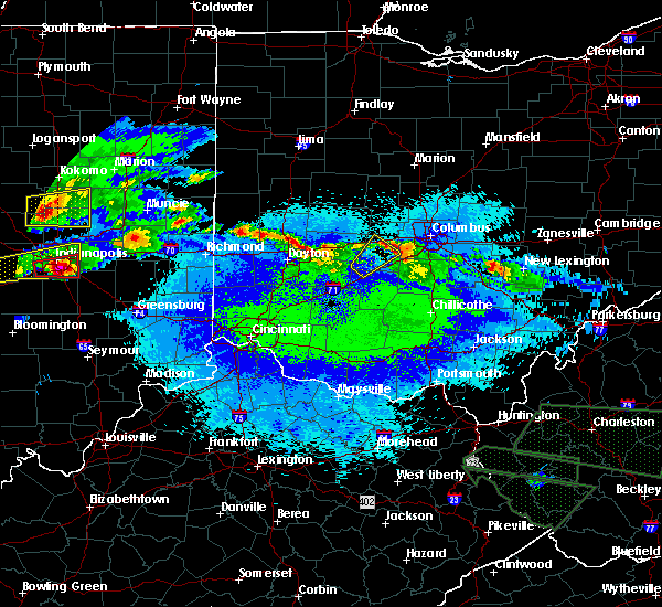 Radar Image for Severe Thunderstorms near Jeffersonville, OH at 5/1/2016 9:40 PM EDT