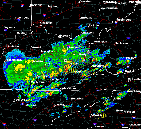 Radar Image for Severe Thunderstorms near Jenkins, KY at 5/2/2016 2:35 PM EDT