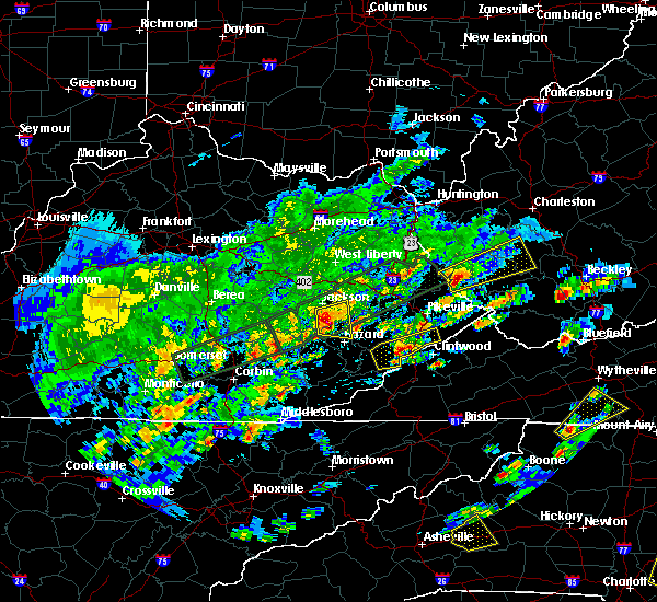 Radar Image for Severe Thunderstorms near Jackson, KY at 5/2/2016 2:50 PM EDT