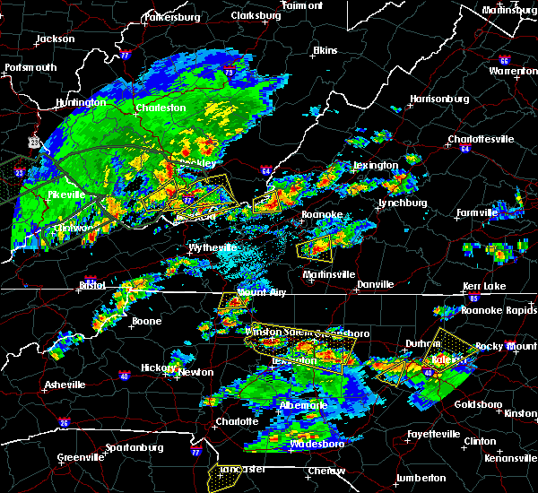 Radar Image for Severe Thunderstorms near Arrington, VA at 5/2/2016 4:53 PM EDT