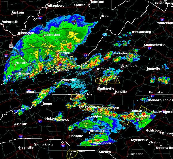Radar Image for Severe Thunderstorms near Arrington, VA at 5/2/2016 5:01 PM EDT