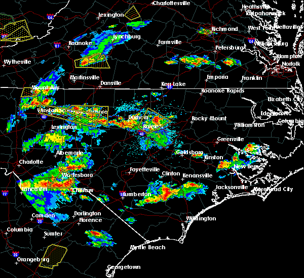 Radar Image for Severe Thunderstorms near Glen Raven, NC at 5/2/2016 5:14 PM EDT