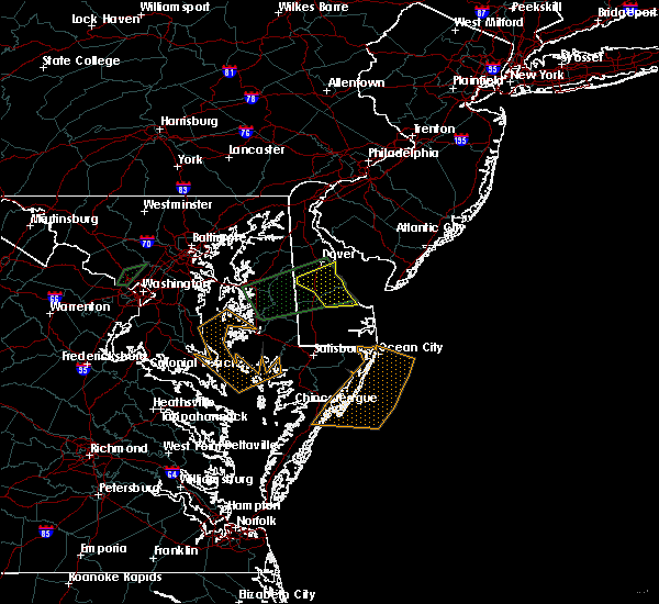 Radar Image for Severe Thunderstorms near Dover, DE at 5/2/2016 10:55 PM EDT