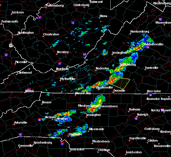 Radar Image for Severe Thunderstorms near Mountain Road, VA at 5/3/2016 3:46 PM EDT