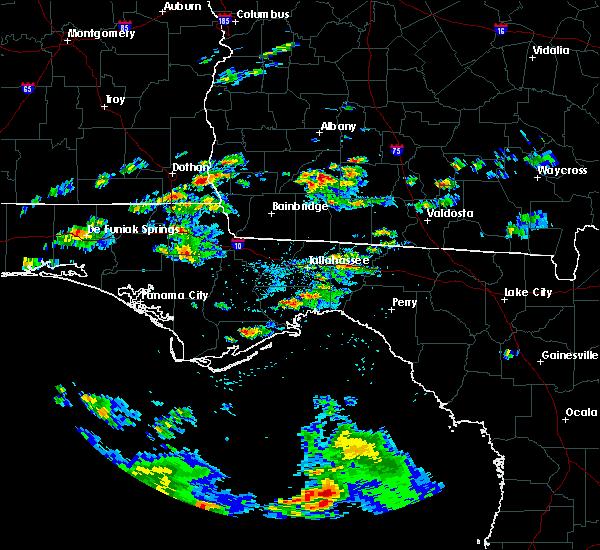 Radar Image for Severe Thunderstorms near Pelham, GA at 5/3/2016 4:07 PM EDT