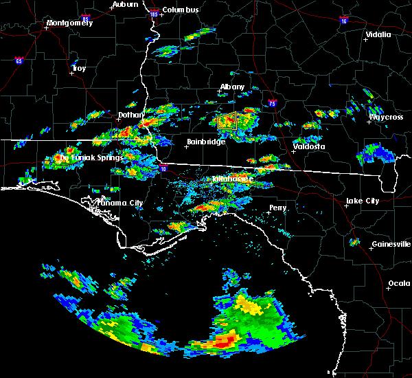 Radar Image for Severe Thunderstorms near Pelham, GA at 5/3/2016 4:14 PM EDT