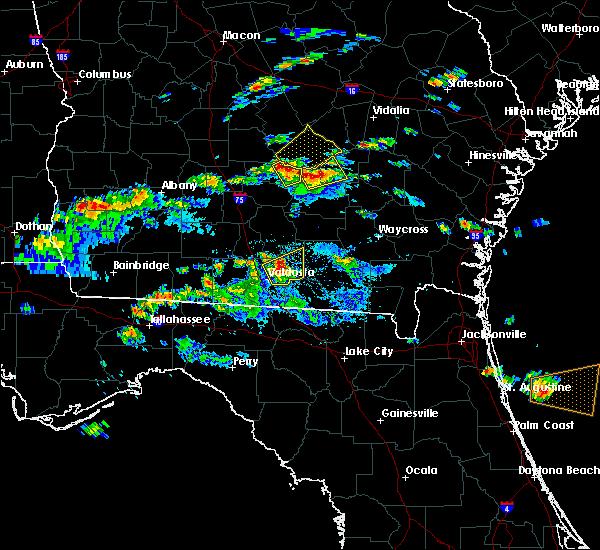 Radar Image for Severe Thunderstorms near Denton, GA at 5/3/2016 6:11 PM EDT