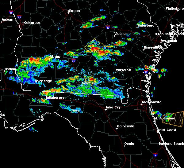 Radar Image for Severe Thunderstorms near Denton, GA at 5/3/2016 6:26 PM EDT