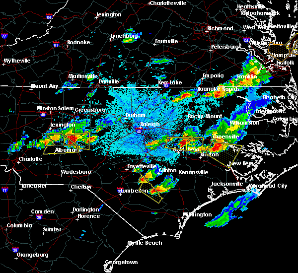 Radar Image for Severe Thunderstorms near Autryville, NC at 5/3/2016 8:45 PM EDT