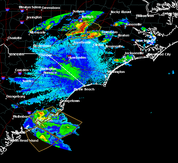 Radar Image for Severe Thunderstorms near Charleston, SC at 5/3/2016 10:33 PM EDT