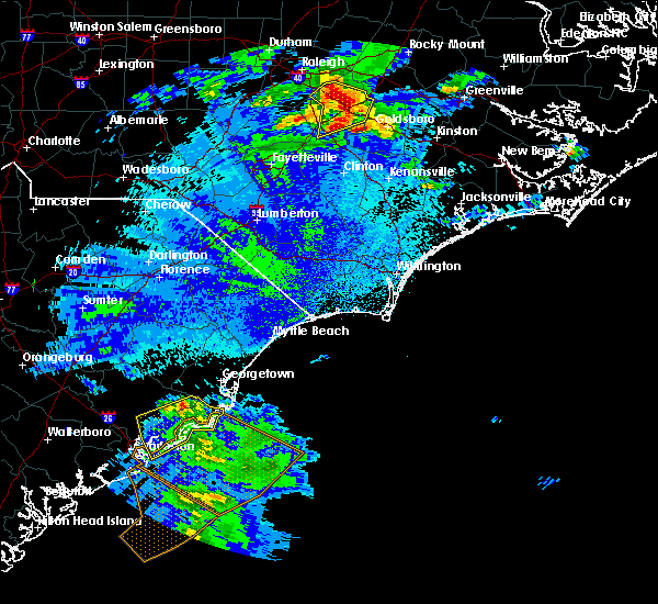 Radar Image for Severe Thunderstorms near Charleston, SC at 5/3/2016 10:59 PM EDT