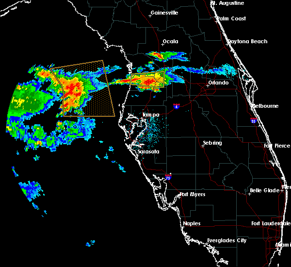 Radar Image for Severe Thunderstorms near Sugarmill Woods, FL at 5/4/2016 4:54 AM EDT