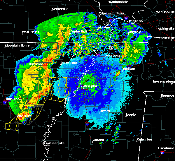 Radar Image for Severe Thunderstorms near Wheatley, AR at 5/10/2016 12:41 AM CDT