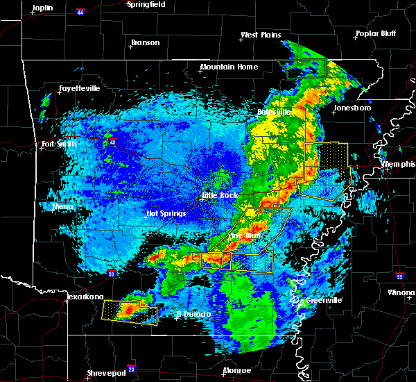 Radar Image for Severe Thunderstorms near Wheatley, AR at 5/10/2016 12:51 AM CDT