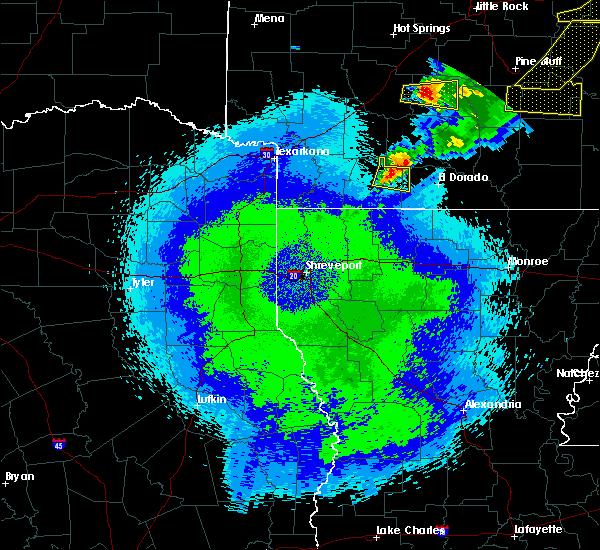 Radar Image for Severe Thunderstorms near Magnolia, AR at 5/10/2016 1:06 AM CDT