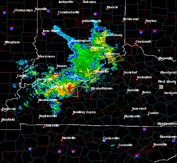 Radar Image for Severe Thunderstorms near Worthville, KY at 5/10/2016 3:04 PM EDT