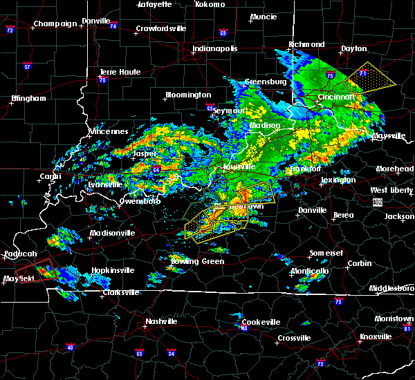 Radar Image for Severe Thunderstorms near Buffalo, KY at 5/10/2016 4:52 PM EDT